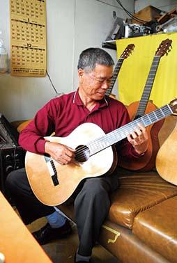 松田ギターチタン