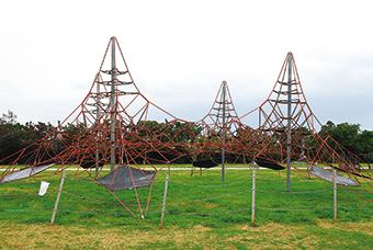 Net playground equipment